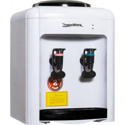 Кулер для воды Aqua Work 0.7-TK белый с нагревом без охлаждения
