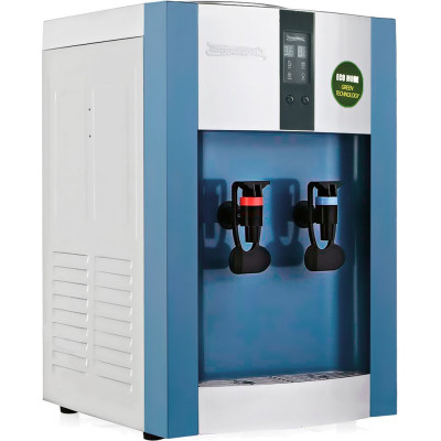 Кулер для воды Aqua Work 16-T/EN-ST синий с турбонагревом и компрессорным охлаждением