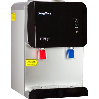 Кулер для воды Aqua Work 105-TD черный с нагревом и электронным охлаждением
