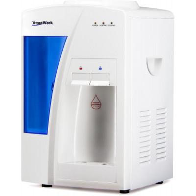 Кулер для воды Aqua Work TB-15 белый с нагревом и электронным охлаждением