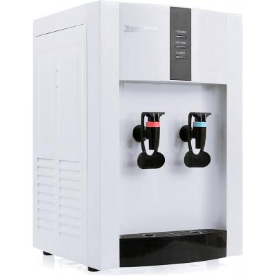Настольный кулер для воды Aqua Work 16-TD/EN белый, нагрев и эл. охлаждение