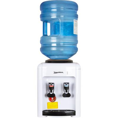 Кулер для воды Aqua Work 0.7-TD белый с нагревом и электронным охлаждением