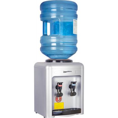Кулер для воды Aqua Work 0.7-TK серебро с нагревом без охлаждения