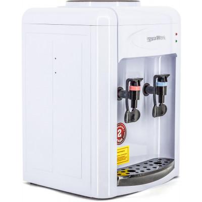 Кулер для воды Aqua Work 0.7-TDR бело-черный с нагревом и электронным охлаждением