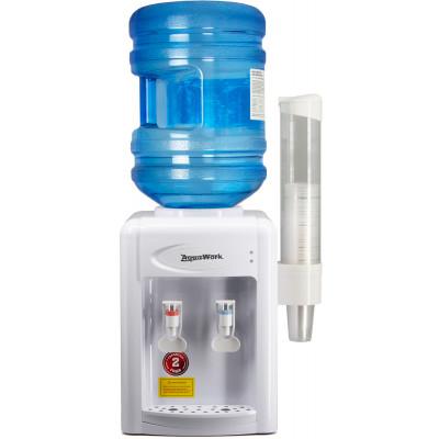 Кулер для воды Aqua Work 0.7-TDR белый с нагревом и электронным охлаждением
