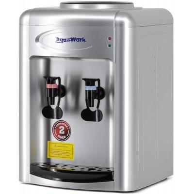 Кулер для воды Aqua Work 0.7-TWR серебро без нагрева и охлаждения