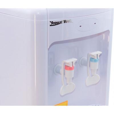 Настольный кулер- водораздатчик для воды Aqua Work 36-TWN белого цвета, без нагрева и охлаждения