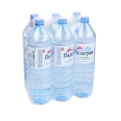 Вода Пилигрим 1,5 литра ПЭТ негазированная (6 шт.)