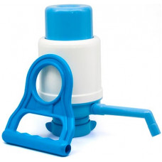 Помпа для воды механическая+ ручка для переноса бутылей
