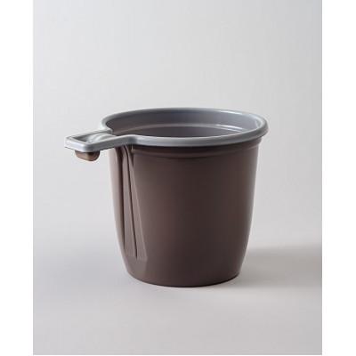 Чашка одн.180 мл кофейная коричнево-белая пластик (50 шт. в упаковке)