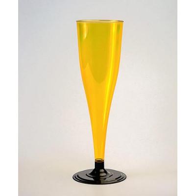 Фужер одн. для шампан. пластик 170 мл разные цвета (6 шт. в упаковке)