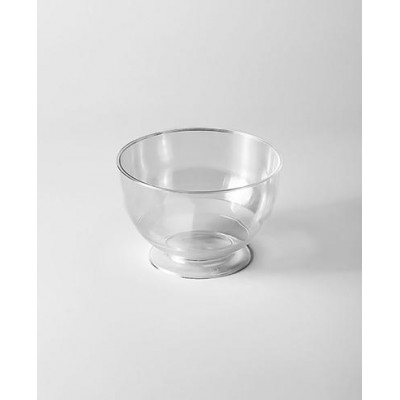 Креманки одноразовые прозрачные 200 мл, твёрдый пластик (16 шт.)