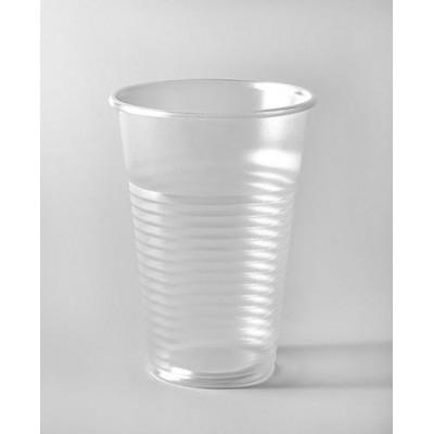 Стакан одн. 200 мл прозрачный пластик (100 шт. в упаковке)