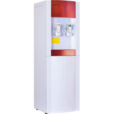 Кулер для воды Aqua Work 16-LD/EN бело-красный с нагревом и электронным охлаждением