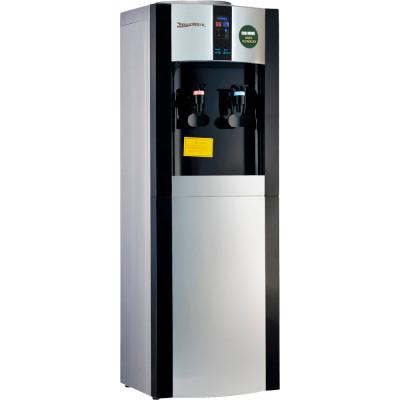 Кулер для воды Aqua Work 16-L/EN-ST черный с турбонагревом и компрессорным охлаждением