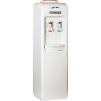 Кулер для воды Aqua Work D828-S белый с нагревом и охлаждением