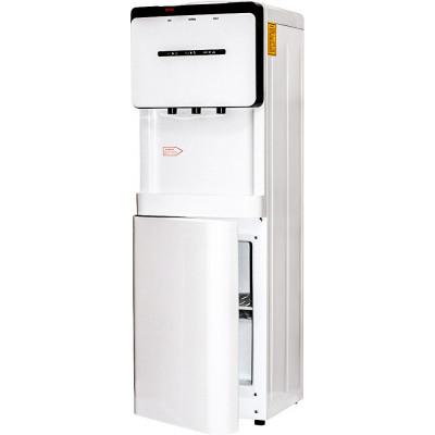 Кулер для воды Aqua Work V908 белый со шкафчиком, с нагревом и компрессорным охлаждением