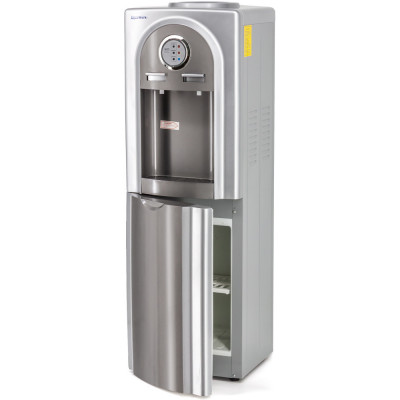 Кулер для воды Aqua Work 5-VB, нагрев и охлаждение электронного типа, встроенный шкафчик