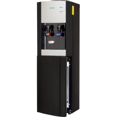 Кулер для воды Aqua Work V901, нагрев и охлаждение электронное, присутствует встроенный шкафчик