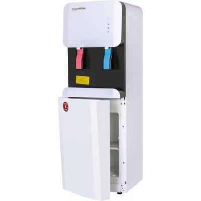 Кулер для воды Aqua Work 105-LDR, эл. охлаждение, нагрев, встроенный шкафчик