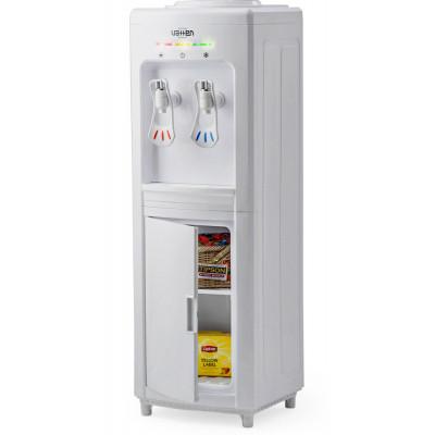 Кулер для воды Vatten V28-WEA белый со шкафчиком, с нагревом и электронным охлаждением