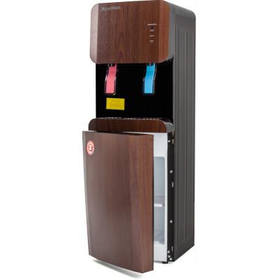 Кулер для воды Aqua Work 105-LDR, нагрев и охлаждение электронное, встроенный шкафчик