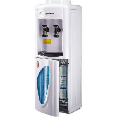 Пурифайер Aqua Work 0.7-LDR/SF+F белый с нагревом и электронным охлаждением
