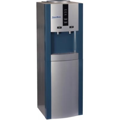 Кулер для воды Aqua Work 16-LD/D синий с нагревом и электронным охлаждением
