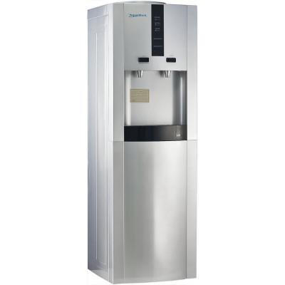 Кулер для воды Aqua Work 16-LD/D серебристый с нагревом и электронным охлаждением