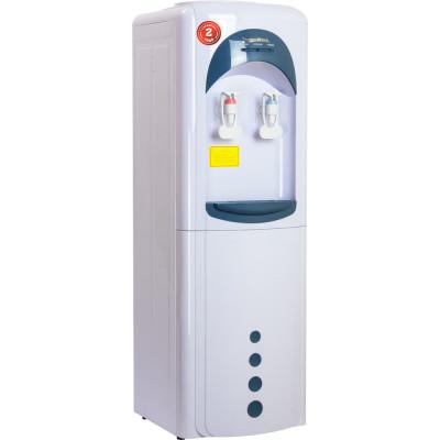 Кулер для воды Aqua Work 16-L/HLN бело-синий с нагревом и компрессорным охлаждением