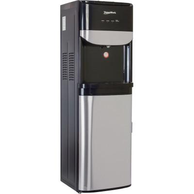 Кулер для воды Aqua Work R71-T черный с загрузкой снизу, с нагревом и компрессорным охлаждением
