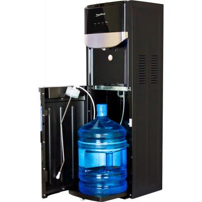 Кулер для воды Aqua Work DR71-T черный с загрузкой снизу, с нагревом и электронным охлаждением