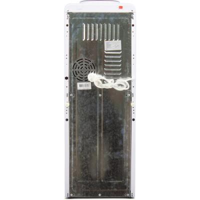 Кулер для воды Aqua Work 0.7-LKR белый со шкафчиком, с нагревом без охлаждения