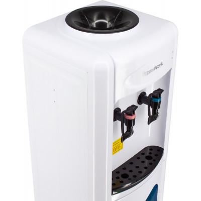 Кулер для воды Aqua Work 0.7-LWR белый со шкафчиком, без нагрева и охлаждения
