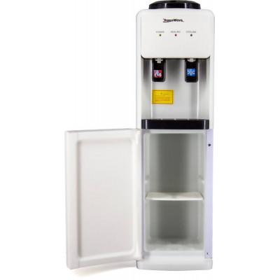 Кулер для воды Aqua Work 23-LD белый со шкафчиком, с нагревом и электронным охлаждением