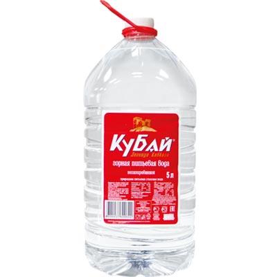 Вода Кубай 5 литров