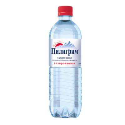 Вода Пилигрим 0,5 литра ПЭТ газированная (12 штук)